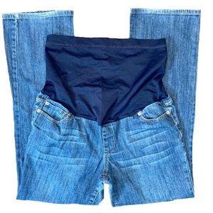 Liz Lange Overbump Maternity Jeans